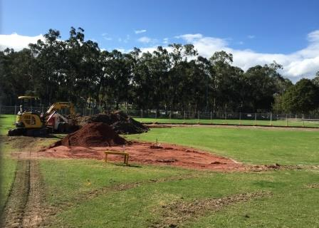 New diamond at Deep Creek takes shape