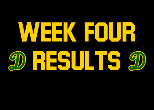 Summer week four results
